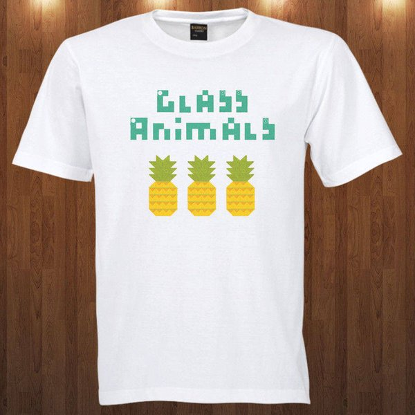 Free Shipping Summer Fashion Office Glass Animals Short-Sleeve Mens Tee