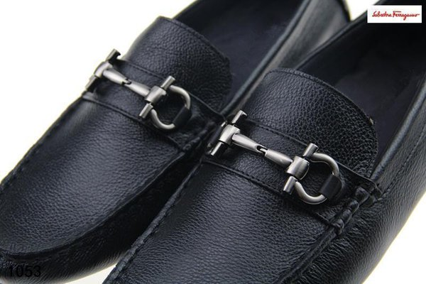 Sf Men Real Leather Moccasins Loafers Drivers New Luxury Casual Shoes Men Designer Men Business Shoes Smoking Slipper