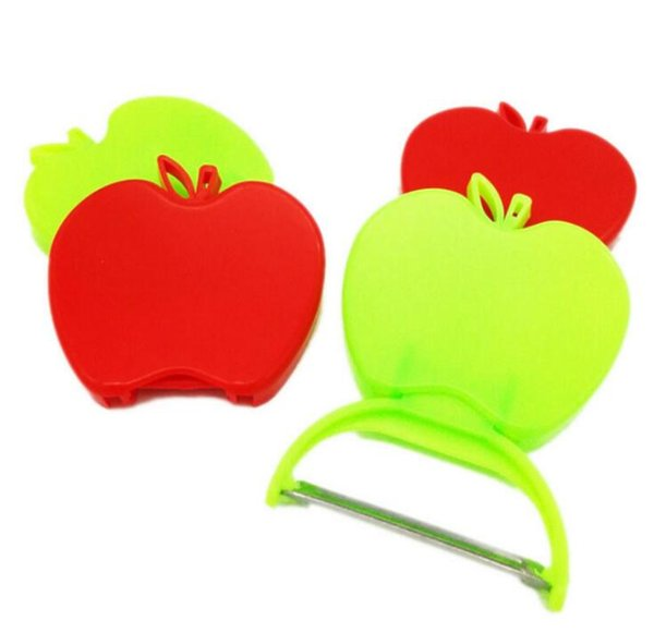 New Kitchen Accessories Grater Stainless steel apple paring knife/fruit knife/melon plane Folding peeler kitchen gadgets