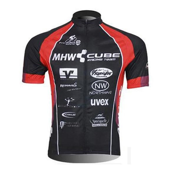 CUBE equipe de Verão Ciclismo Jersey maillot de manga curta camisa Ropa ciclismo Respirável Bicicleta Vestuário Quick-Dry mtb Sportswear 010805Y