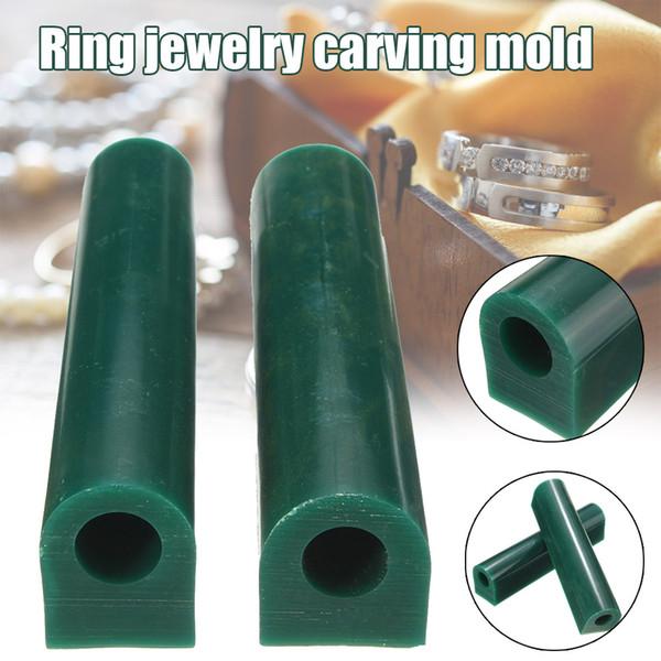 Aracı DIY Yeşil Yuvarlak Delik Tüp K888 Döküm Yapımı Yüzük Takı Wax Tüp Kalıp Oyma Kalıp Takı