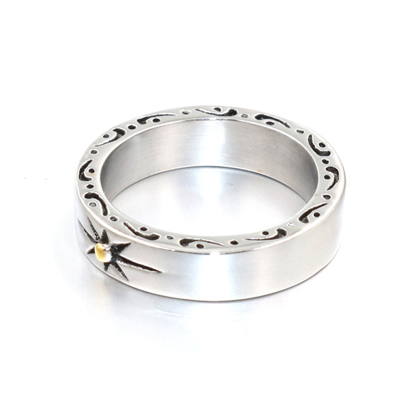 Brand Fashion Jewelry Wholesale German Army Iron Cross Ring Stainless Steel Jewelry Gothic Punk Motor Biker Men Ring