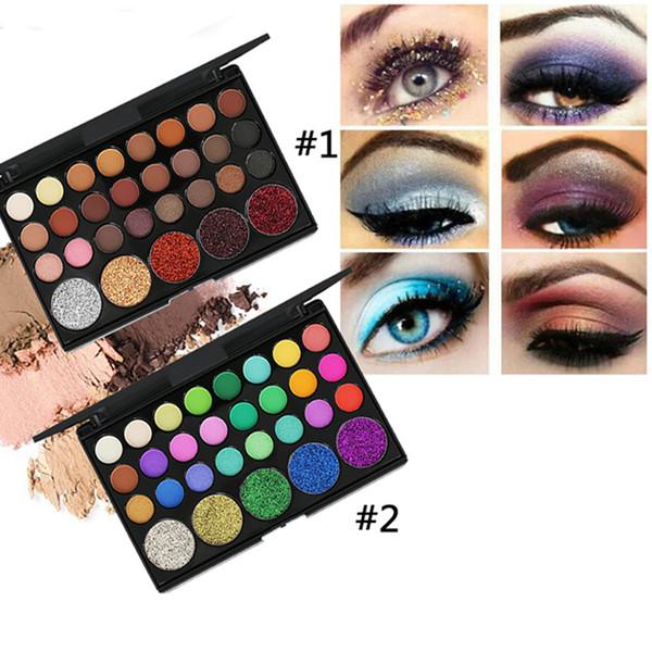 Cosmetics.Female cosmetics.29 color sombra de ojos.De alta calidad.Durable Piel impermeable y luminosa.Envío gratuito de entrega rápida
