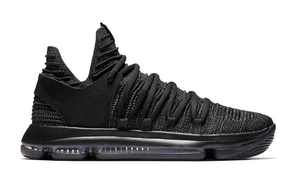 Zoom New Kd 10 Anniversary Pe Bhm Oreo Triple Men Basketball Shoes Kd 10 Elite Low Kevin Durant Athletic Sport Sneakers