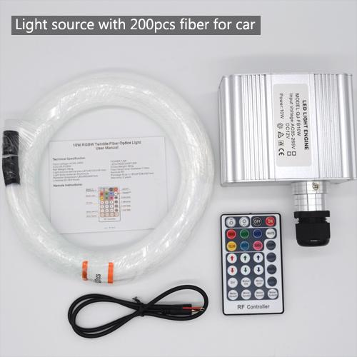 자동차 용 200pcs 광섬유 광원