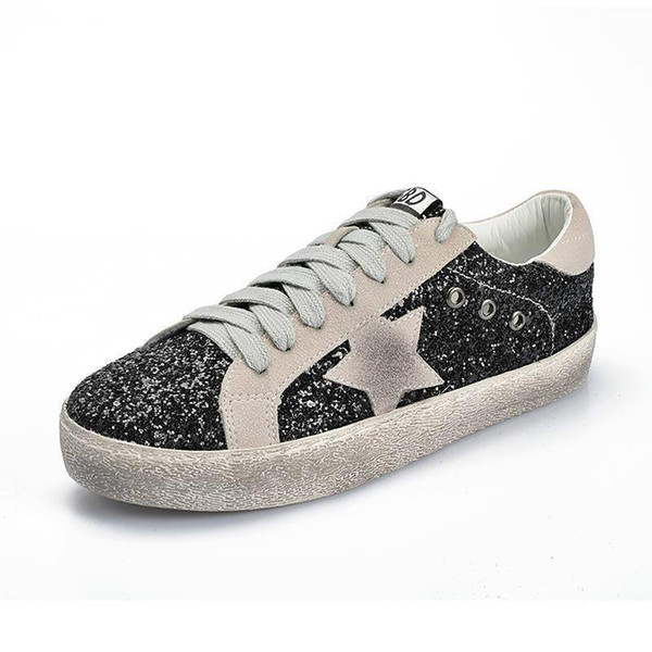 Designers Old Style Golden Gooses Sneakers Women Scarpe Fashion Smith Luxuries Sneakers Casual Shoes Leather Sneakers1-4