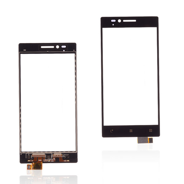 5.0'' Touch Glass For LENOVO Vibe X2 Touch Screen Front Outer Glass Digitizer Panel Parts Sensor Flex Cable Adhesive