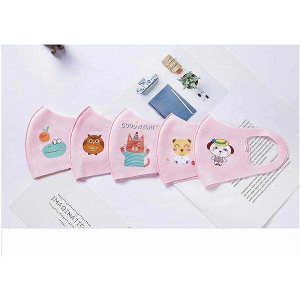 Kinder-Maske Rosa Farbenmischung