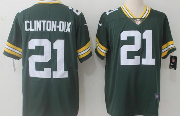 promo code bf2ed 042be 2019 Green Bay Embroidery Packers Men Jersey #12 Aaron Rodgers 52 Clay  Matthews 87 Jordy Nelson 21 Ha Ha Clinton Dix Women Youth Football Jerseys  From ...