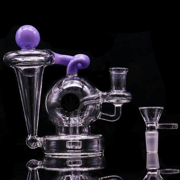 purple with logo-bowl