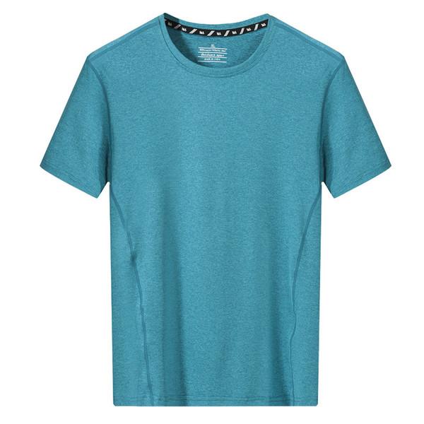 Schnelltrocknendes T-Shirt Herren Sommer Kurzarm T-Shirt Fitness Bekleidung Laufbekleidung Lose Training Fußball Basketball Mantel