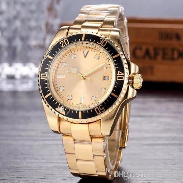 44MM relogio masculino мужские часы Роскошный дизайнер моды циферблат из нержавеющей стали складной застежкой мастер мужской мужские часы большого