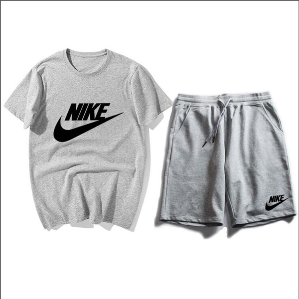 2019 Chándales para hombres Calzado deportivo NIKΕ ropa deportiva Sudadera de diseñador Camisetas informales Traje de jogging Camisetas de manga corta + Conjuntos de pantalones cortos