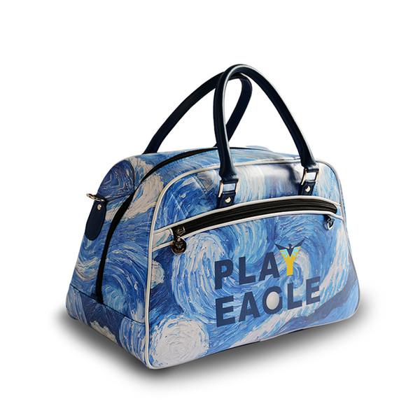 MiaoshakuaiDhgate Boston Van Viaje Ropa Pu Starry Gogh Para De Night Compre Playeagle com 46 A85 Bolsa Y Del Cuero I2HED9