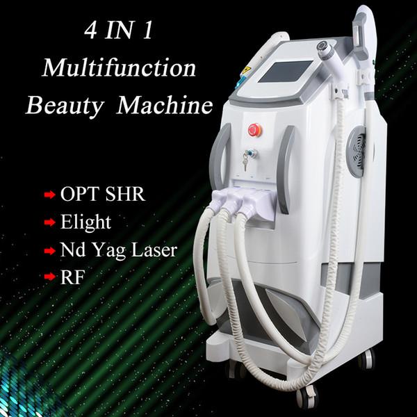 Q switch nd yag laser enlèvement de tatouage sourcils mahine elight épilation au laser peau rf serrer le système