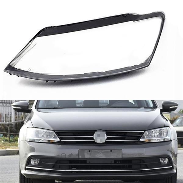 For Volkswagen VW Sagitar 2012 2013 2014 2015 2016 2017 2018 Car Headlight Headlamp Clear Lens Auto Shell Cover