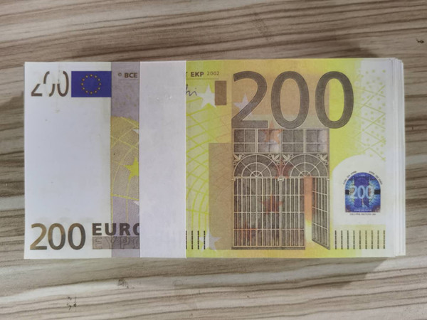 200 100pcs التي اليورو