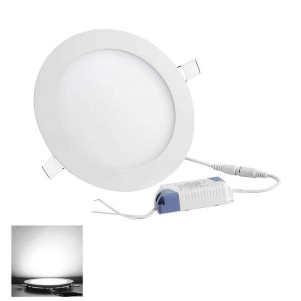 9W LED empotrada en el techo circulares accesorios ligeros abajo bulbo blanco fresco