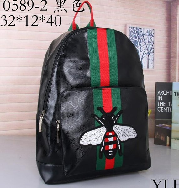 top popular 2018 women men backpacks fashion backpack shoulder bag luggage travel bag Purse 45 colors bags 662 2019