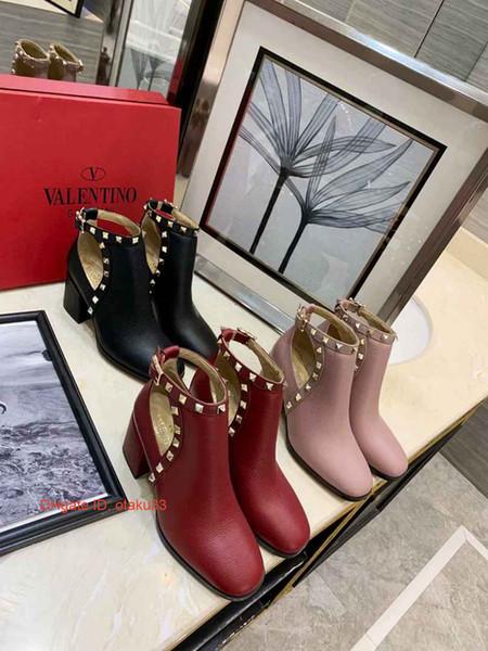 Las mujeres de lujo de la moda patean los zapatos de cuero del diseñador zapatillas de deporte libres del envío ocasionales impermeables para mujer con la caja de Entrenadores