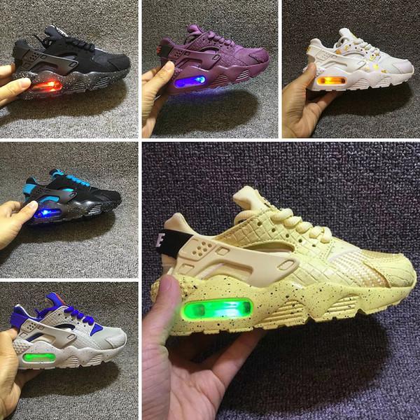 comprar baratas ead79 548dc Compre Nike Air Huarache Flash Light Air Huarache Kids 2018 Nuevas  Zapatillas Para Correr Infant Run Zapatillas Deportivas Para Niños Al Aire  Libre ...