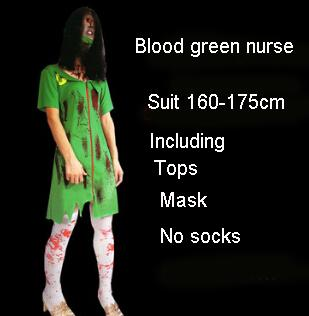 2019 Adult Halloween Costumes For Men And Women Horror Cosplay Funny Clothes Cosplay Blood Werewolf School Zombie Horror Costume