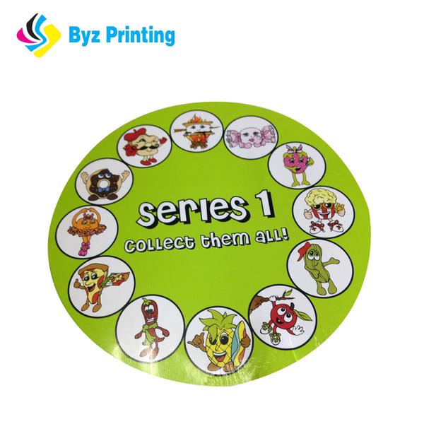 Manufacture High quality Custom logo sticker food label sticker logo sticker with paper glossy lamilation
