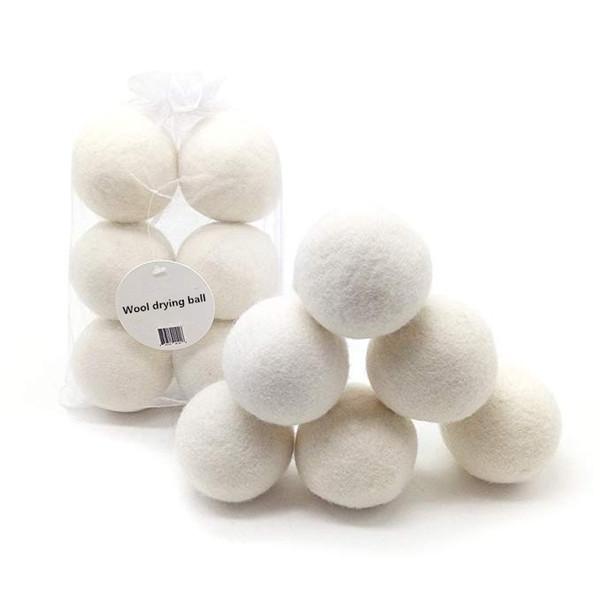 2020 bestseller Amazon 100% nuevas bolas Zelanda hechos a mano orgánicos secador de lana en stock de lana bolas del secador
