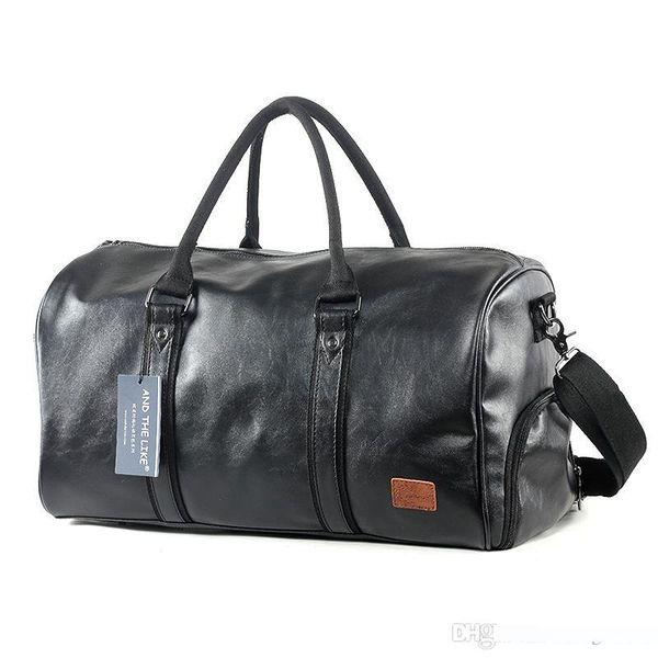 Multi Function borsa da viaggio ad alta capacità Gripesack unisex Deposito inclinato pacchetto Wear Resistant Nero Vendite dirette della fabbrica 65qx C1
