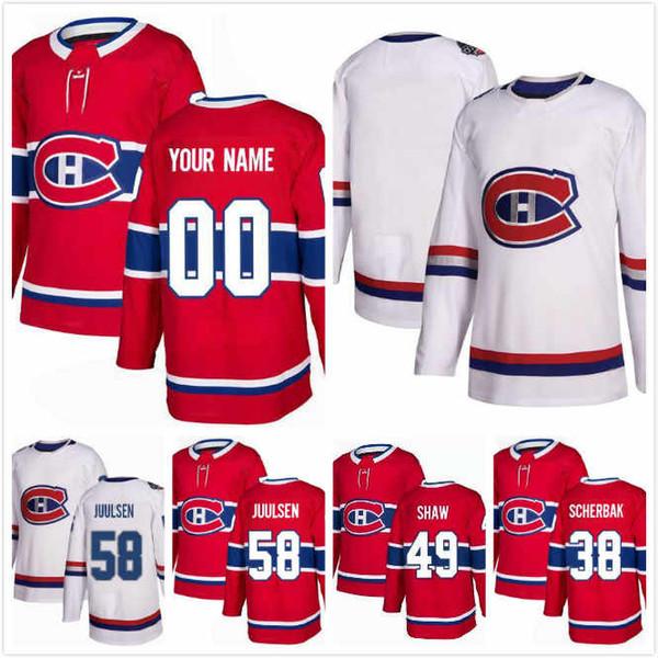 Custom Montreal Canadiens Tomas Tatar Jersey 90 Paul Byron 41 Dale Weise 22 Karl Alzner 27 Christian Folin 30 Ben Chiarot 8 S-3XL