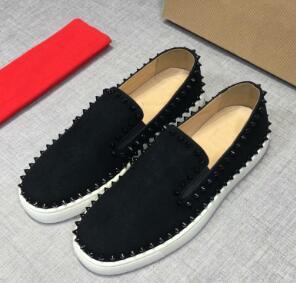 chaussures hommes concepteur bas pour aider haut fond rouge ont souligné la qualité des hommes et des femmes femme designer partie chaussures casual taille 35-46 e8
