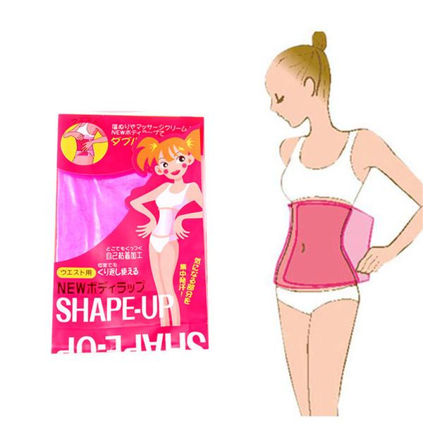 Emagrecimento Cintura Cinto Corpo Shaper Envoltório Coxa Bezerro Braço Perna Barriga Perder Peso Sauna SHAPE-UP Plástico Nontoxic PVC Emagrecimento Cinto Bodyshape A42301