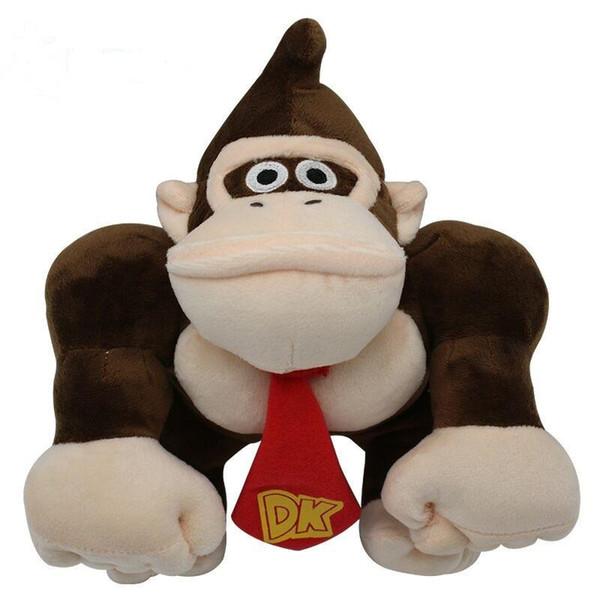 Süper Mario Peluş Oyuncaklar Orangutan Çocuklar Yumuşak Dolması Hayvanlar kawaii Oyuncak Karikatür Oyun Bebekler Oyuncaklar 30 ...