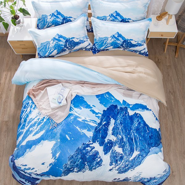 Copripiumino Iceberg.Acquista Spedizione Gratuita Holiday Gift Scenery Snow Mountains