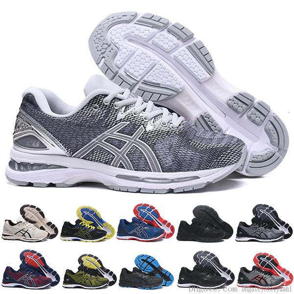 2019 Gel-nimbus 20 Stability Running Shoes For Men Black White Blue Mens Trainer Fashion Sports Sneakers Runner
