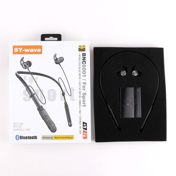 SY-wave BCNX001 Bluetooth Écouteur Crochet D'oreille Écouteurs Stéréo Sans Fil Sweatproof Active Annulation De Bruit Casque Avec Mic auriculaire