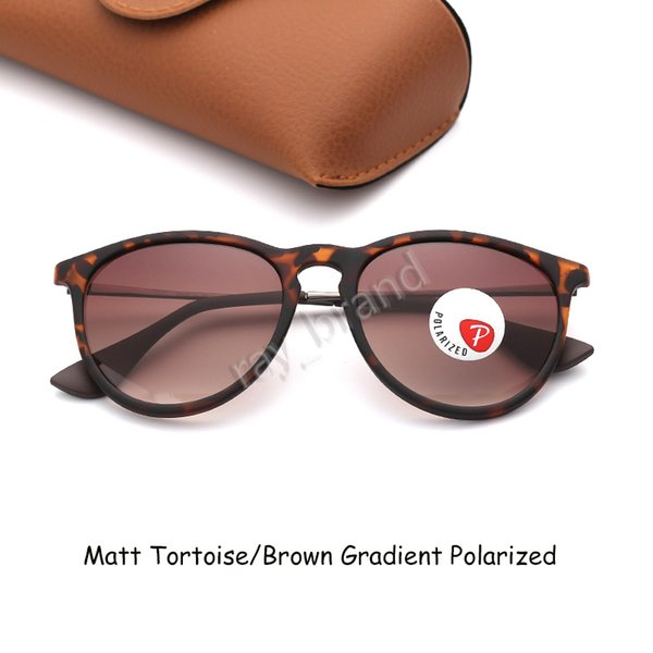 Мэтт Tortoise-Brown Gradient поляризованные