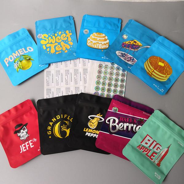 top popular 2020 newest cookies bags Cookies sf Bag Berry pie Sweet Tea Grandiflora Stickybuns Lemon Pepper JEEF og Big Apple Balla Berries cookies bags 2020