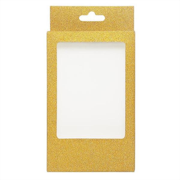 scatola di ciglia giallo