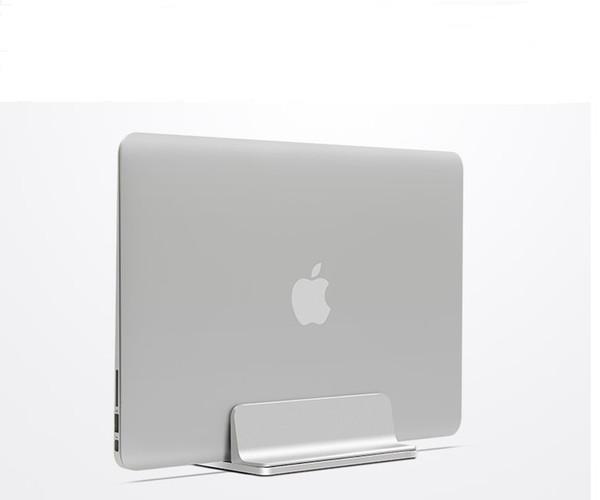 WESAPPA Supporto per laptop verticale in alluminio Spessore del desktop regolabile Supporto per notebook Supporto salvaspazio per auto MacBook Pro / AIR