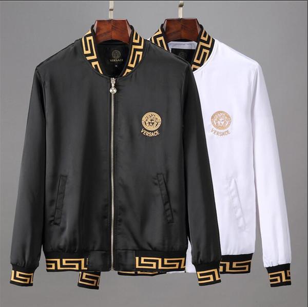 Veste New Mode homme Veste Casual vrac Hommes Vêtements de sport Blouson vestes pour hommes et de manteaux XXLVERSACE