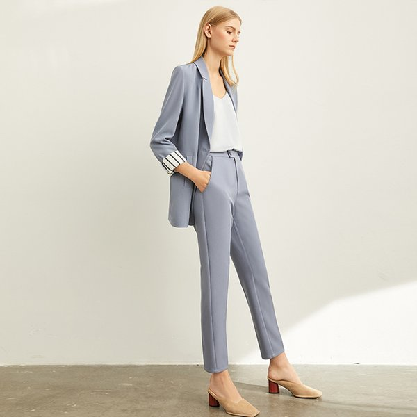 Haze blue (suit pant