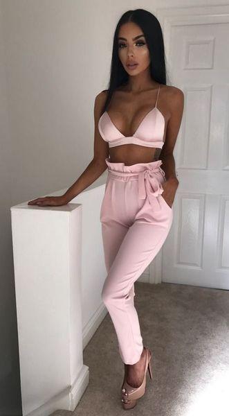 New Women High Waist Pants Women looks Slim &Skinny Pure Color Leggings Stretchy