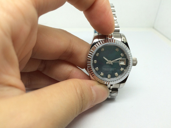 free shipping hot sale woman watch Top sell lady watches mechanical watch automatic movement stainless steel wrist watch for women r52