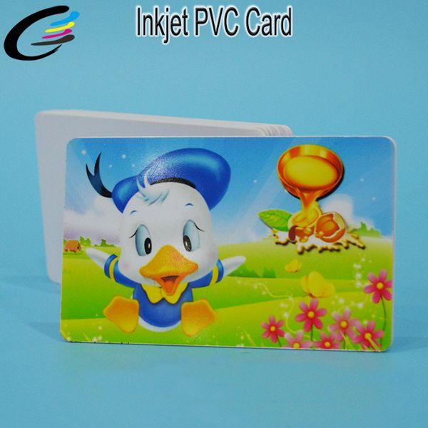 230pcs high id card Printable PVC white card sheet for inkjet printer