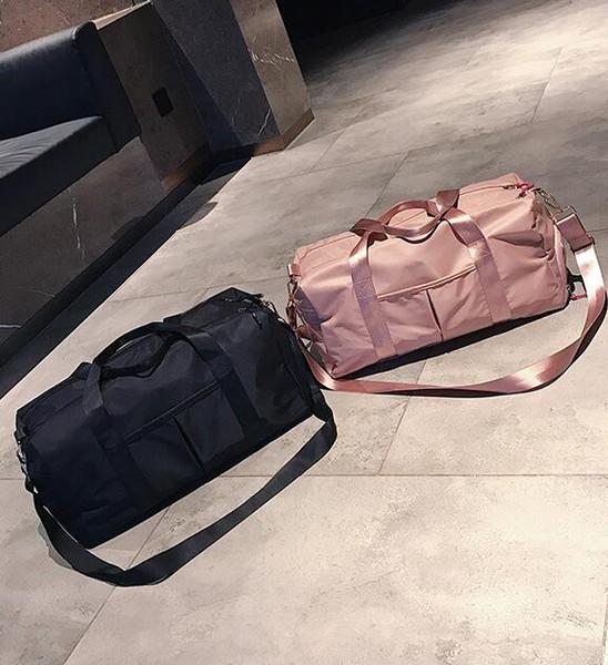 2019 Горячая марка мужчины женщины дорожная сумка PU Кожаная спортивная сумка бренда дизайнер багажа сумки большой емкости спортивная сумка