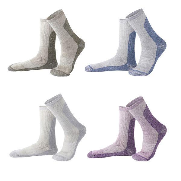R-BAO Winter Men Women Thickened Long Skiing Sock Breathable Moisture Absorption Wool Warm Adults Sock