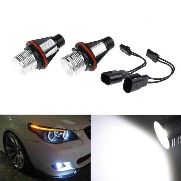 2-5W Pour BMW E39 E60 E53 E63 Ampoule De Phare Anneau LED Angle Haute Puissance