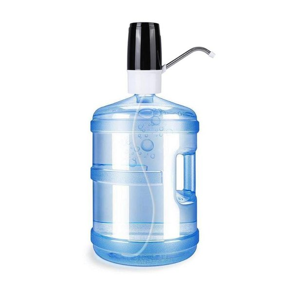 Útil Dispensador de agua eléctrico Portátil Galón Botella de agua Interruptor Inteligente Inalámbrico Bomba de agua Aparatos de tratamiento de aguaHK0070