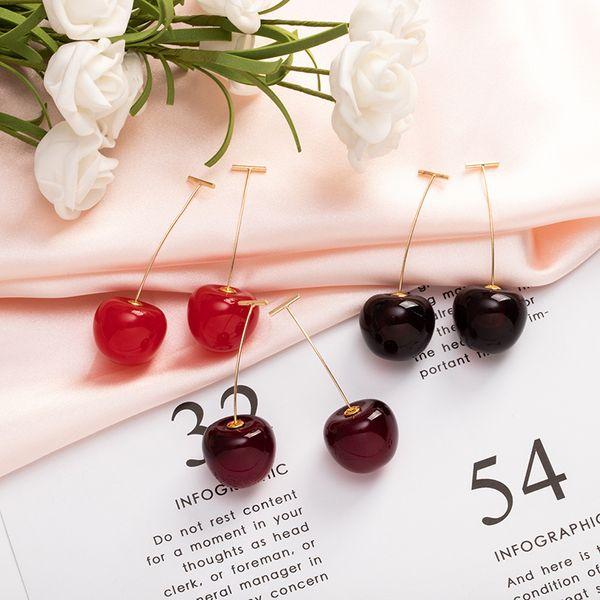 Berry Kirschen Ohrring, So nett, Art und Weise der Korea-Art, anti-allergisch, nicht verblassen, Hign Qualität und freies Verschiffen
